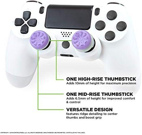 KontrolFreek FPS Freek Galaxy Purple voor PlayStation 4 (PS4) Controller | 2 Performance Thumbsticks | 1 Hoge Stijging, 1 Gemiddelde Stijging | Paars [playstation_4] [onbekend_formaat] 4