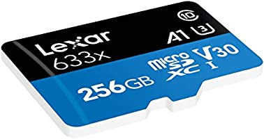 Tarjeta Lexar High-Performance 256GB 633x microSDXC UHS-I - LSDMI256BBEU633A