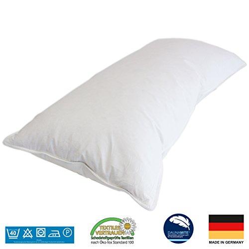 7dreams® 3 Kammer Kopfkissen - Deutsches Qualitätsprodukt - 40x80cm - 550g Füllgewicht