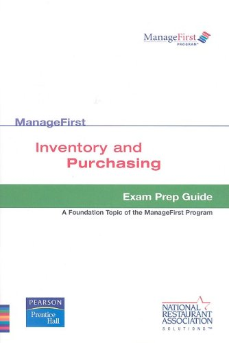 Test Prep ManageFirst Inventory and Purchasing