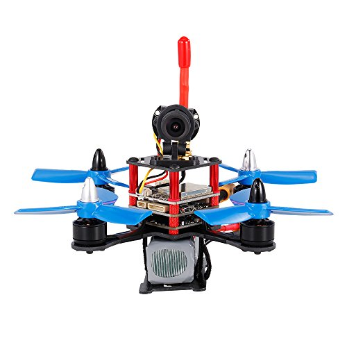 Goolsky 120mm 5.8G 700TVL Wide-angle Camera 3 In 1 Tower FPV Racing Drone F3 Flight Controller OSD ARF RC Quadcopter