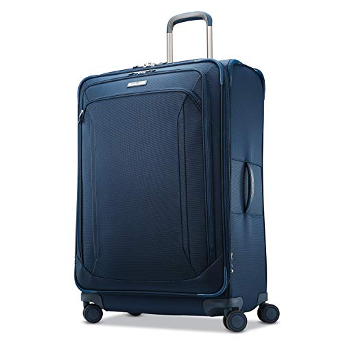(Samsonite Checked-Large, Evening Teal)