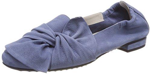 Kennel und Schmenger Schuhmanufaktur Malu, Bailarinas con Punta Cerrada Para Mujer Azul (Indigo)