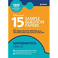 15 Sample Question Papers Mathematics Class 12th CBSE 2019-2019-2020