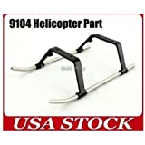 Double Horse 9104 RC Helicopter Spare Part Undercarriage Landing Skid 9104-18