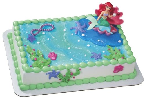 Ariel Little Mermaid with Pearl Cake Kit Amazoncouk Kitchen Home