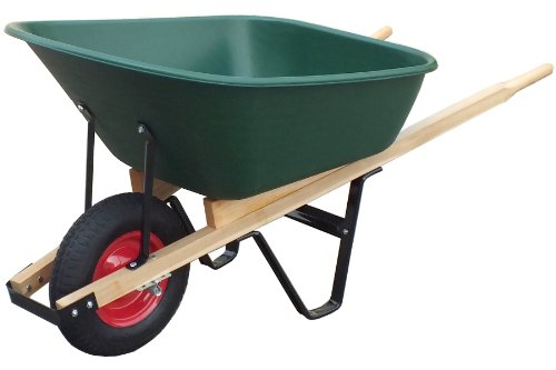 United General WH89695 Poly Tray Wheelbarrow