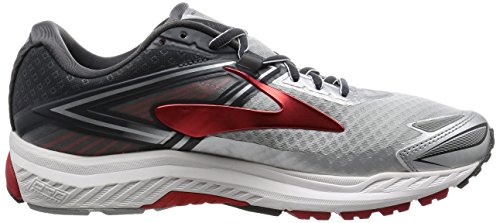 Brooks Para Ravenna Hombre red Correr 8 Silver Zapatos ZZnPrx