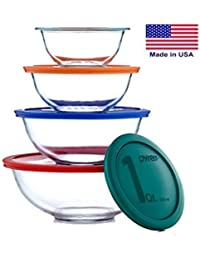 Investment 4 X Pyrex Smart Essentials 8 Piece Mixing Bowl Set online
