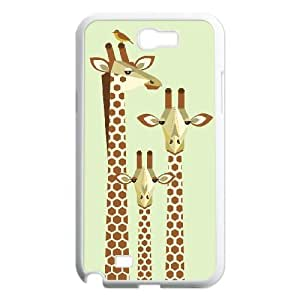 Winfors Family Of Giraffe Phone Case For Samsung Galaxy Note 2 N7100 [Pattern-3]