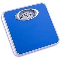 MCP Analog Blue Weight Machine Capacity 120Kg Manual Mechanical Full Metal Body Analog Weighing Scale (Blue)