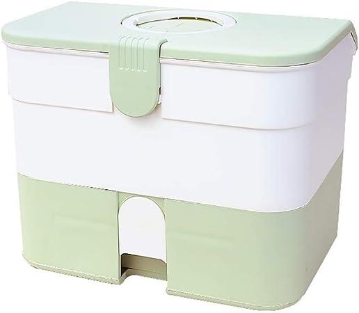 Botiquín de Primeros Auxilios Estuche de almacenamiento Kit de Medicina Familiar Cajas de emergencia Botiquín de primeros auxilios Caja Organizador for el hogar del recorrido del lugar de trabajo: Amazon.es: Hogar