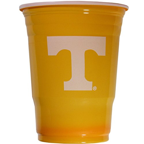 NCAA Plastic Game Day Cups, Tennessee Volunteers,18-Ounce, Sleeve of 18 cups ()