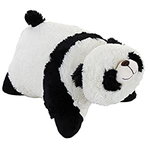 "Genuine My Pillow Pet Comfy Panda - Large 16"" (Black and White) - 41J4kW730DL - Classic Comfy Panda Pillow Pet – 16″ Stuffed Animal Plush Toy"