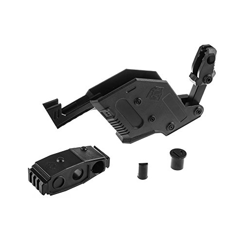 WORKER Mod Kriss Vector Kits Picatinny Rail Mount Combo 5 Items for Nerf STRYFE Toy - Blaster not Included