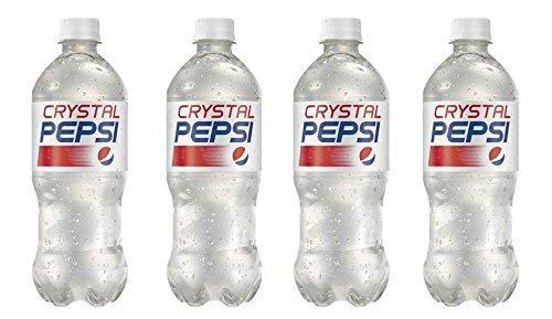 (Crystal Pepsi 4 Pack 20fl oz Bottles)