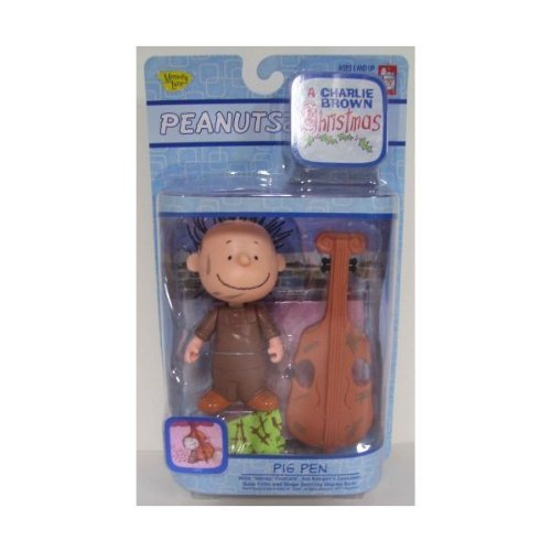 [Peanuts A Charlie Brown Christmas Pig Pen with Cello Action Figure] (Charlie Brown Christmas Costumes)