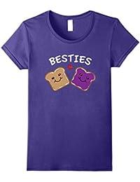 Peanut Butter and Jelly Best Friends Cartoon Food T-Shirt