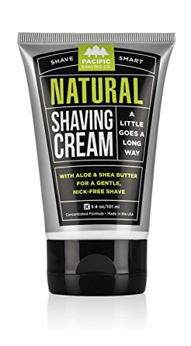 Pacific Shaving Company Natural Shaving Cream, 3.4 Ounce