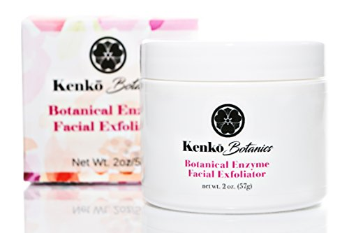 Botanical Enzyme Exfoliator by Kenko Botanics for Face Polish – 2 oz Dead skin remover with Papaya, Pineapple Enzyme and Lactic Acid