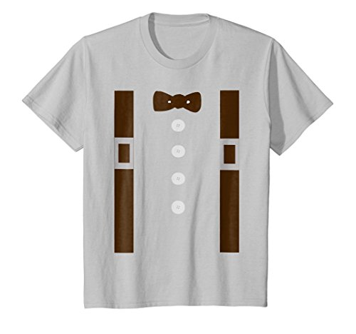 Price comparison product image Kids Pioneer Or Amish Costume Shirt For Halloween Pioneer Day 10 Silver