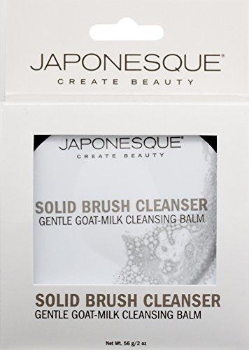 41ICGEqztGL JAPONESQUE Solid Brush Cleanser, Goat-Milk, 2 oz