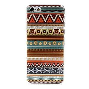 National Style Abstract Geometric Seamless Pattern Plastic Hard Case for iPhone 5C