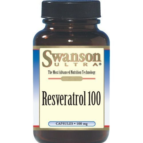 Swanson Ultra Resveratrol 100mg 30 Capsules 12 Bottles by Swanson