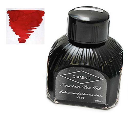 (Diamine Refills Red Dragon Bottled Ink 80mL - DM-7077)