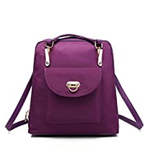 Women's Classic Simple Style Durable Lightweight Backpack