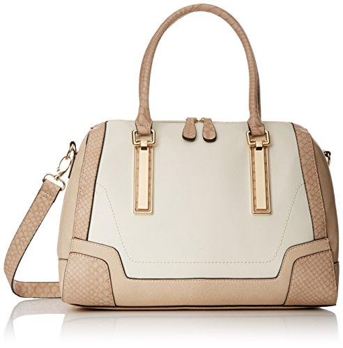 Aldo Resse Top Handle Bag BoneNudeSnake Combo One Size