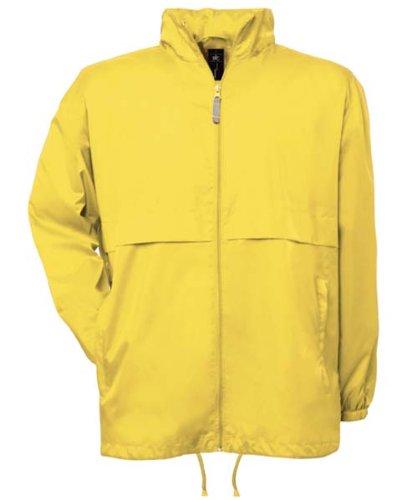 B & C Kollektion Air Windbreaker - Very Yellow