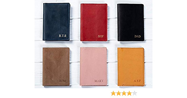 Passport holder personalized best friend gifts vegan leather passport cover personalized gift for her christmas gift.