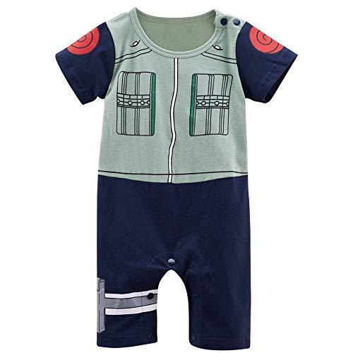 Coolbebe Baby Boy Cartoon Costume Cosplay Romper (12-24 Months, Green) -