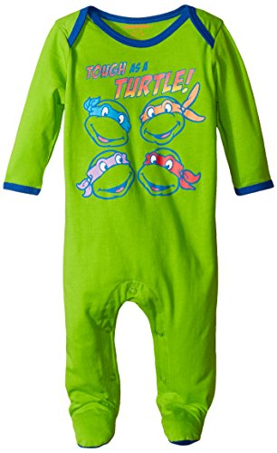 Nickelodeon Baby-Boys Newborn Teenage Mutant Ninja Turtle Sleep N Play Coverall