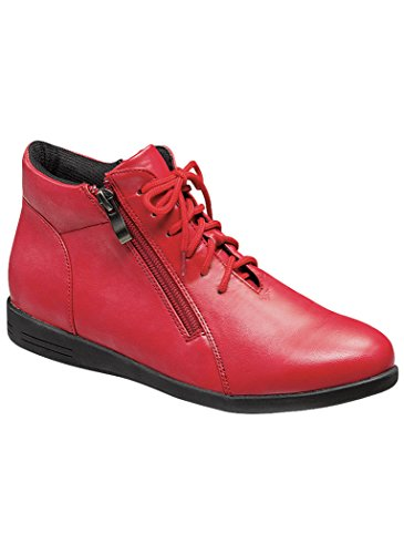 Beacon Donna Adulto Angelo Passi Leah Boot Sintetico Rosso