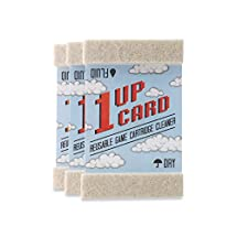 Universal 1 UP Retro Video Game Cartridge Cleaning Kit 3 Pack [1UP Card] 1UP Card