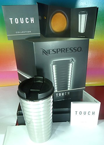 Nespresso Travel Silver Tumbler Stainless