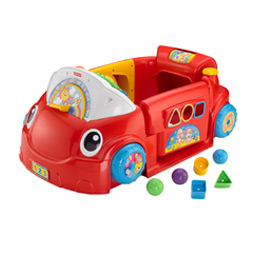 Amazon Com Fisher Price Laugh And Learn Crawl Around Car