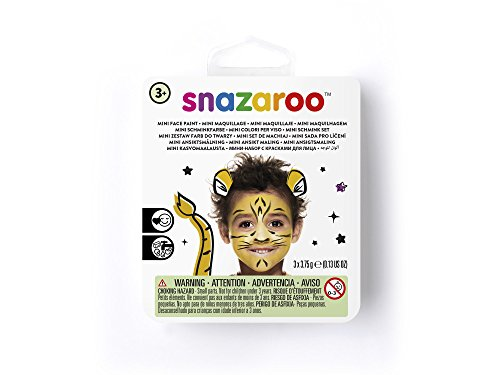 Theme Paint Face (Snazaroo Tiger Face Paint Theme Kit)