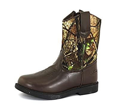 amazon com duck head boys dustin camo synthetic boots 12 5 m us