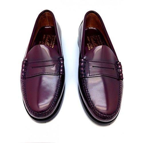 Castellano® 1920 Madrid - Mocasín florentick burdeos para mujer: Amazon.es: Zapatos y complementos