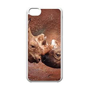 linJUN FENGProtection Cover Hard Case Of Rhinoceros Cell phone Case For iphone 5/5s