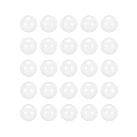 "ZrO2 Ceramic Bearing Ball Zirconia Oxide Grade 5 10 PCS 2.5mm 0.0984/"""