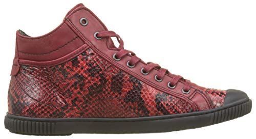 Bono sangria F4d Collo Donna 354 A Sneaker Rouge s Alto Pataugas dwExqz0gnd