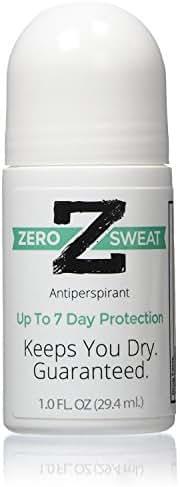 ZeroSweat Antiperspirant Deodorant | Clinical Strength Hyperhidrosis Treatment - Reduces Armpit Sweat,1 Count