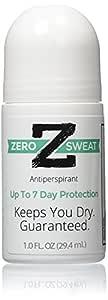 ZeroSweat Antiperspirant Deodorant   Clinical Strength Hyperhidrosis Treatment - Reduces Armpit Sweat,1 Count