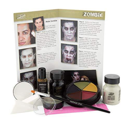 Zombie Makeup Ideas - Mehron Makeup Premium Character Kit