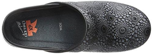 9fb82e979c60 Dansko Women s Wide Pro XP Black Medallion Patent Mule  Amazon.ca  Shoes    Handbags