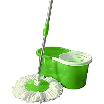 Amazon Com Valuebox Spin Bucket System Mop With Extended